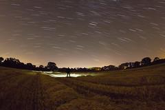 Badgers Rake (Rob Pitt) Tags: startrails startrailsexe stars cheshire wirral trails little sutton ellesmereport harvest night longexposure fisheye samyang 8mm