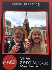 Coca Cola Zero (Elysia in Wonderland) Tags: coca cola zero liverpool trip elysia lucy free drink sugar frame