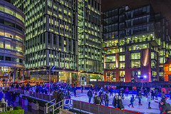 Spinningfield Ice Ring (Misses Davies) Tags: christmas ice manchester skating ring spinningfield