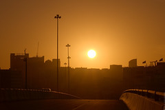 Low sun (engine9.ru) Tags: road sunset sky sun low ngc uae abudhabi koyaanisqatsi