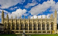 La ms gran capella / The greatest chapel (SBA73) Tags: uk inglaterra cambridge england english church weather clouds outside u