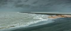 Storm at Eemshaven (koos.dewit) Tags: sea seascape storm holland water canon pier wind thenetherlands groningen 2015 eemshaven 1740mml canon6d koosdewit