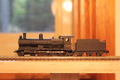 3229 in N scale (james.sanders2) Tags: 6 building scale wheel train model n engine class steam nsw p locomotive scratch brass railways gauge 32 tender 9mm c32 460 1160 3229 nswgr