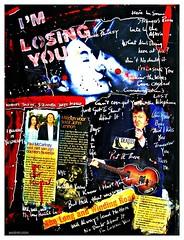 I'M LOSING YOU (Walter Vermeulen aka Old76 MIA) Tags: collage mixedmedia yokoono paulmccartney doublefantasy beatlesart musicinspiredart johnlennonsongsillustrated
