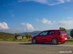 Corme-2 (Gon Cancela) Tags: car vw golf volkswagen faro paisaje galicia coche bbs mirador tsi corme roncudo mkvi merendero mk6 ponteceso