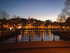 Amsterdam by night (Ariadni's Thread) Tags: travel holland travelling netherlands amsterdam by night europe canals nightlife ariadnisthread
