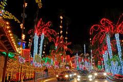 Festival of Lights 2014 (Dtek1701) Tags: christmas winter colors lights holidays downtown december fuji riverside tripod wideangle southerncalifornia ultrawide fujinon festivaloflights missioninn vibrance inlandempire apsc xt1 mirrorless xmount fujinonxf1024f4ois