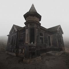Foghouse II (SkylerBrown) Tags: california abandoned fog architecture dark scary sad gothic foggy haunted spooky haunting depressing urbex
