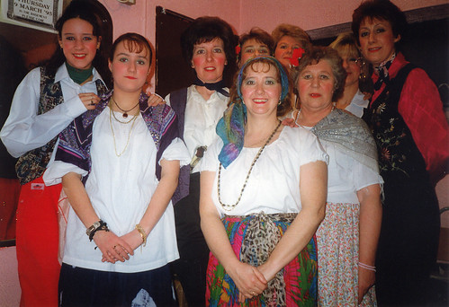 1995 Humpty Dumpty 02 (from left Lindsey Hill,Shelley Redgate,Pauline Milner,Sally Capp,Denise Boyes,x, Rita Hampton,x,Linda Ellis)