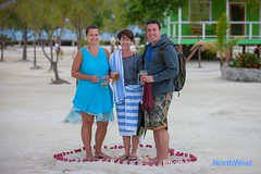 Belize 2014 (Dave Wilson Cumbria) Tags: vacation sun tree beach island sand paradise belize plum palm coco tropical cocoplum