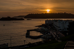 The West Hoe (Explore) (trevorhicks) Tags: sunset sea canon island bay plymouth devon hoe tamron harnour 70d