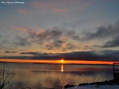 DSCN7649-2SWM (moon_hunter2014) Tags: lake clouds sunrise naked dock turtle champlain plattsburgh