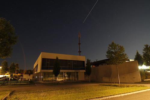 Gemeindeamt Redlham Nachtstimmung