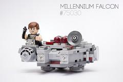 Lego Millennium Falcon #75030 (Ben Brotherton) Tags: macro amazing focus photographer lego ben fucking hans 100mm millennium solo micro falcon l stacking fighters brotherton 75030 benbrotherton
