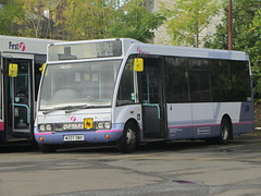 First Scotland East Optare Solo 50292 Balfron 04/10/14 (David_92 (no longer being updated)) Tags: scotland first east solo depot bluebird midland balfron optare 50292 dwx m850 w337dwx w337
