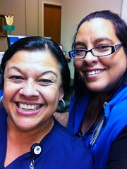 New Friends (TMLizzy Irwin) Tags: tina nurse clinic iphone newfriends hch huntsmanhospital epicgolive june2014 epicsupport