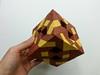 Menger sponge variation (hyunrang) Tags: origami tunnel cube fractal variation mengersponge hur knotology paperstrip