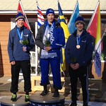 CWG Boys' Ski Cross Podium - Devin Mittertreiner (Fernie Alpine Ski Team) claimed silver, teammate Ryan Finley (Fernie Alpine Ski Team) took bronze