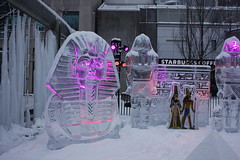 Icefest 15 (codie_horse) Tags: toronto statues talent wintertime yorkville icecarving frozenintime 2015 ancientegyptian blooryorkville 10thyear madeofice 10thannualicefest icefest15 bloorandyorkville