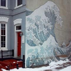 Georgetown mural (Leoniedas) Tags: usa house streetart art mobile washingtondc dc mural grafitti georgetown lg ostreet