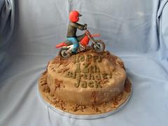 Dirt Biker (creations and celebrations) Tags: birthday cake chocolate dirtbike motocross