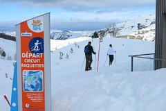 Dpart Raquettes (gourette domaine skiable) Tags: ski pistes gourette 2015 stationski