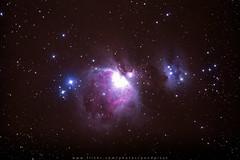 The Orion Nebula (Pond Pisut) Tags: canon astro nebula astrophotography astroscape 60da