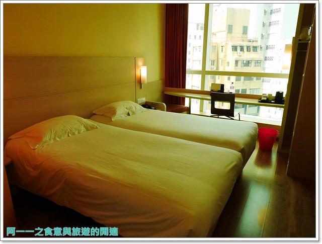 香港旅遊住宿飯店宜必思ibis中上環酒店機場快線image029