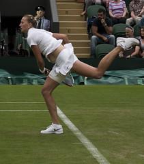 Kvitova5 (richardneve32) Tags: ladies pentax 1st andrea petra first tennis round championships f18 limited wimbledon fa k5 2014 77mm pentaxlife smcpfa77mmf18 hlavackova kvitova