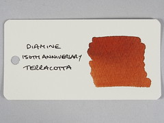 Diamine 150th Anniversary Terracotta - Word Card