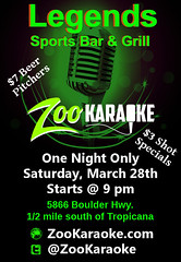 """Zoo Karaoke at Legends • <a style=""""font-size:0.8em;"""" href=""""http://www.flickr.com/photos/131449174@N04/16640512420/"""" target=""""_blank"""">View on Flickr</a>"""
