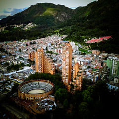 The bull ring of Bogota