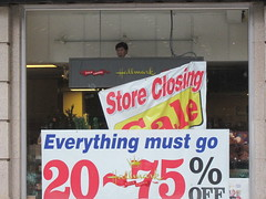 Everything must go (rwchicago) Tags: chicago closing outofbusiness storeclosing
