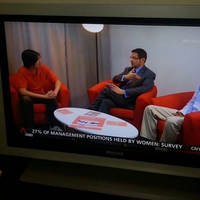 #temploy on tv right now! Channel news asia startup season 2. Watch me pwn this sales challenge. I believe this will be triumphant for us.