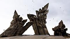 IX fort Kaunas Lithuania ('TIGER') Tags: world bird monument germany memorial war fort union nazi nazis 9 soviet jew ninth killed crow jews vgel fortress lithuania victims forts ix juden ussr cccp kaunas execution the lietuva gedenksttte litauen nazism soviets massacres i