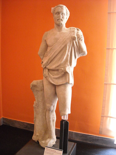 """Fisher"" from Posillipo / Naples - half 2nd century AD - Naples Archaeological Museum - ""Augustus and Campania"" - Exhibition at Archaeological Museum of Naples, until May 4, 2015"