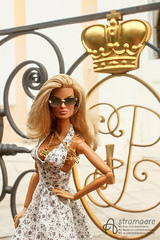 Peterhof (astramaore) Tags: summer public sunglasses toy toys photography necklace doll tan petersburg going blonde 16 sunkissed tanned eugenia peterhof integrity astramaore