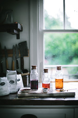 Bungalow Tea Punch by Eva Kosmas Flores (Eva Kosmas Flores) Tags: summer flores cherry diy eva tea peach plum homemade alcohol apricot vodka easy punch cocktails nectarine roasted stonefruit infused infusions kosmas makeahead