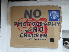 No photography and no children (duncan) Tags: nophotography nochildren sign