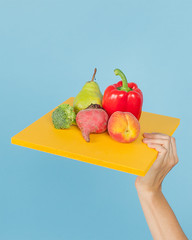 Fruits & Veggies (J Trav) Tags: fruits veggies seamless color