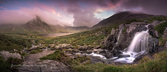 Summer Valley. (explore) (Gareth Mon Jones) Tags: snowdonia ogwen valley waterfall