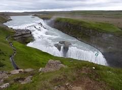 P1870426 Gullfoss waterfall  (6) (archaeologist_d) Tags: waterfall iceland gullfoss gullfosswaterfall