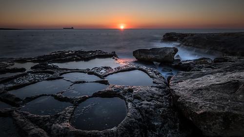 Salt flats - Marsaskala, Malta - Seascape photography