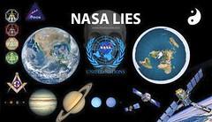NASA Lies (ipressthis) Tags: sun moon truth flat united mason lies nasa un dome bible symbols curve yinyang memes nations curvature flatearth firmament nocurve flatearthonline