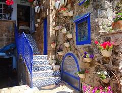Jaffa (Yafo), a few scenes (1) (jackfre2) Tags: israel telaviv yafo jaffa oldstreets flowers