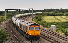"""""""GBRf Greenergy"""" (MSRail Photography) Tags: 66 freight petroleum class66 gbrf"""