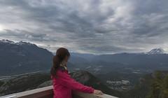 Overlook (yuanxizhou) Tags: summer mountains vancouver clouds landscape scenery britishcolumbia overcast diamondhead garibaldi squamish