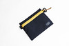 Flat Pouch Blue Yellow 01 (Imagery Bags) Tags: zipper ykk waterresistant flatpouch drypouch