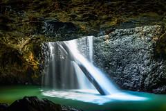 Natural Bridge (John A Hunt Photography) Tags: waterfall sony au australia naturalbridge nsw queensland visitnsw visitqueensland
