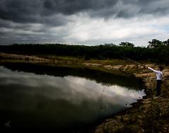 Desmesurado (kvmatus) Tags: lago reflejo pesca grande desmesurado lake water big nubes cielo sky cloud